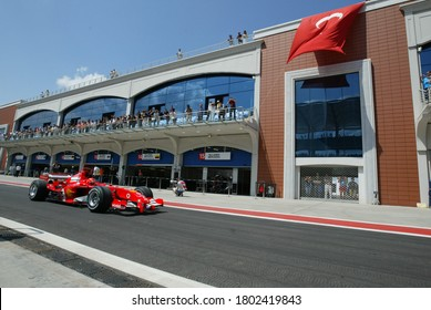 Turkey Istanbul Park Grand Prix was held 21 August 2005. Formula 1 Teams and their fans took their place in the stands, participated in various events in the entertainment areas.