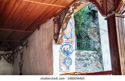 MANİSA, TURKEY JUN 16 2018, Darkale Mosque in Soma, Manisa, Turkey