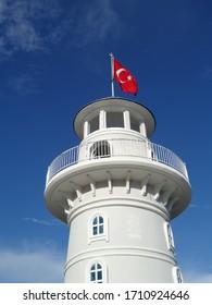 Turkey lighthouse, Alanya, Turecko, holiday