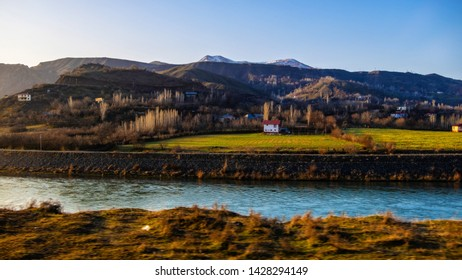 Turkey, Malatya, 17 March 2019# villages and river views