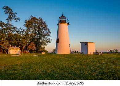 Turkey Point Lighthouse, at Elk Neck State Park, Maryland