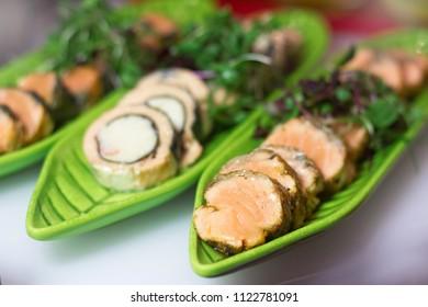 Turkey roll Rotolo di Tacchino or Chicken Roulades