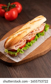 Turkey Sandwich With Tomato And Lettuce