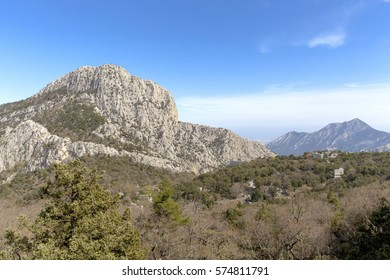 Turkey Taurus Mountains in the ancient city of Termessos in Antalya.