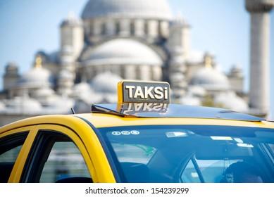 turkey taxi in Istanbul