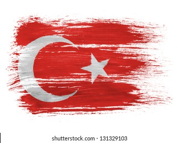 Turkey. Turkish flag