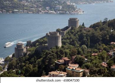 Turkey's most beautiful city, istanbul, bird's eye view