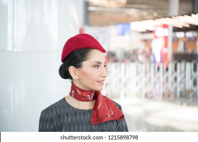 Turkey's Prime Minister Recep Tayyip Erdogan, has opened a new airport in Istanbul. Istanbul Airport was the new name. Turkish Airlines Air Hostesses welcomed guests 29 OCTOBER 218 Istanbul at Turkey