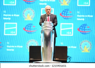 Turkey's Prime Minister Recep Tayyip Erdogan, has opened a new airport in Istanbul. Istanbul Airport was selected. Mustafa Cengiz also spoke .29 0ctober 2018 ISTANBUL TURKEY