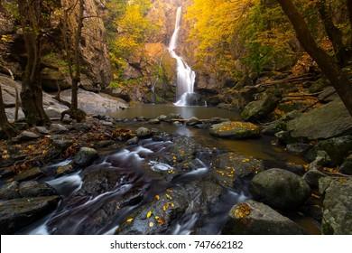 Turkey's waterfalls and rivers. Erikli waterfall, Cinarcik, Yalova, Turkey