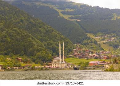 TURKEY-TRABZON : 06 AUGUST 2018 - Long Lake (Uzungol) in Trabzon,Turkey