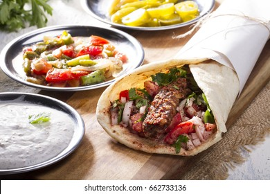 Kebab Wrap Images Stock Photos Vectors Shutterstock