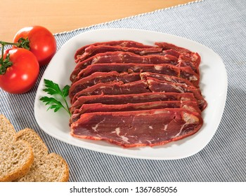 Turkish bacon, pastrami (kayseri pastirma)