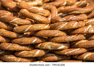 Turkish bagels (Simit)