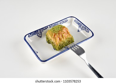 Turkish Baklava with pistachio
