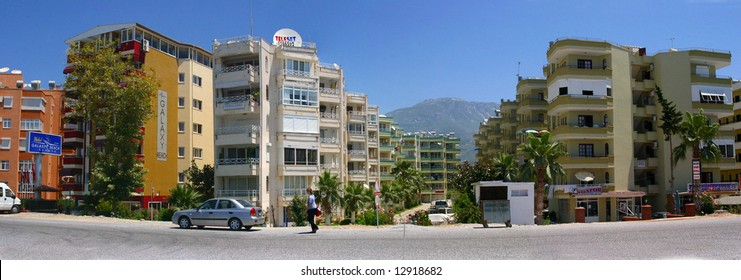 Turkish beach resort hotels,	near	Anamur	Turkey