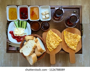 Turkish breakfast for two persons
