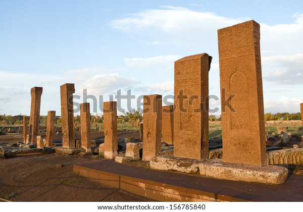 Turkish cemetery in Ahlat, Bitlis province