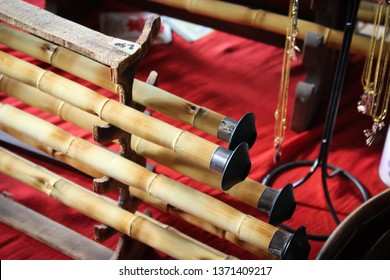 Turkish classical folk Sufi music instruments (Ney) in the music store