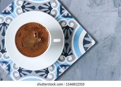 Turkish coffee traditional drink
