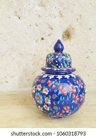 Turkish colorful ceramics pottery souvenirs