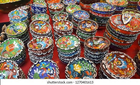 Turkish colorful porcelain bowls are a show of beautiful craftsmanship both in Turkey and other Middle east countries.