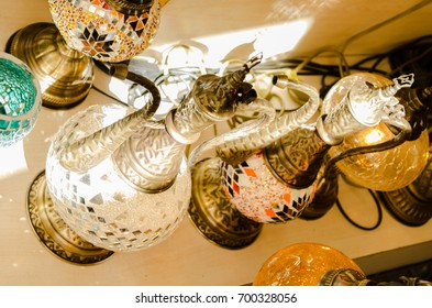 Turkish decorative lamps, turkish bazaar
