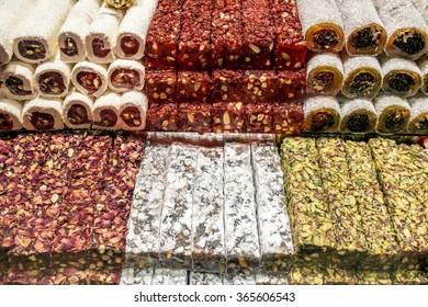 Turkish delight or lokum