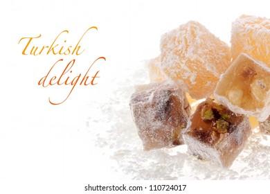 Turkish delight (rahat lokum)