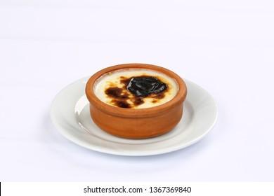 Turkish Desert Sutlac - Baked Rice Pudding
