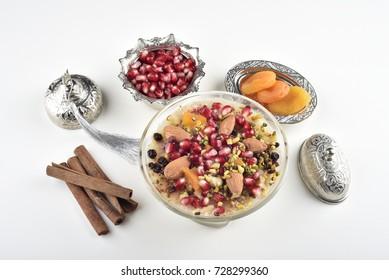 Turkish dessert Ashura, Noah's pudding