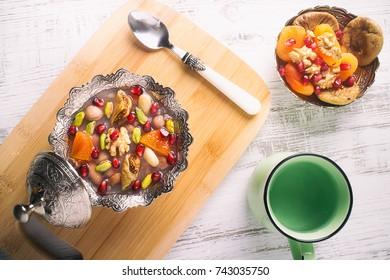 Turkish Dessert; Asure (Ashura)