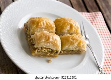 Turkish Dessert; Baklava