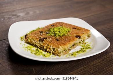 Turkish Dessert Baklava kadayif