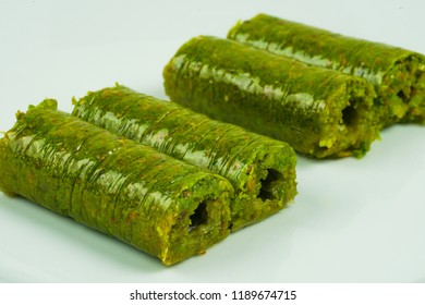 turkish dessert peanut wrap