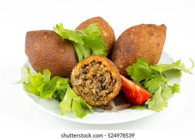 Turkish Fast Food; Stuffed Meatballs, Icli Kofte