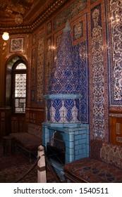 turkish fireplace of egyptian old palace