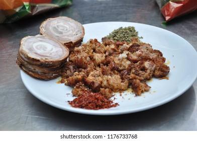 turkish food; kokorec
