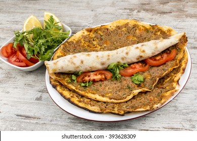 Turkish Food Lahmacun