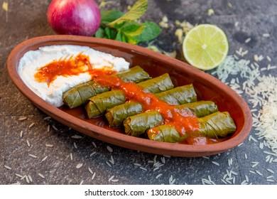 turkish food menu