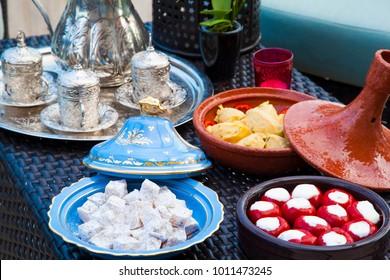 Turkish Food Setup