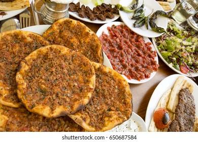 Turkish Foods; Adana Kebab
