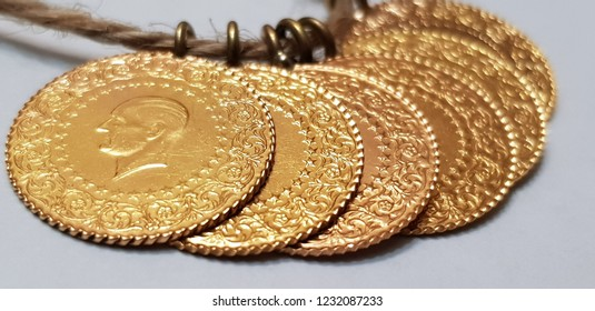Turkish Gold Coin- Quarter