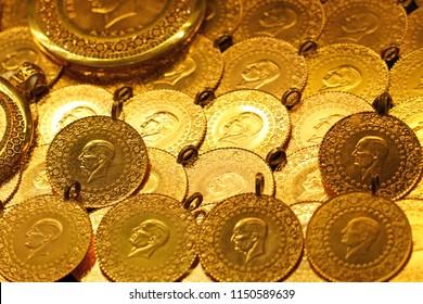 Turkish gold coins