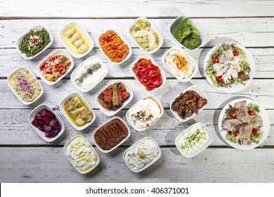 Turkish and Greek Dinner Table