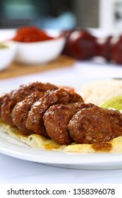 Turkish Homemade Meatball Kofta