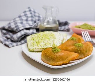 Turkish katayef sweet
