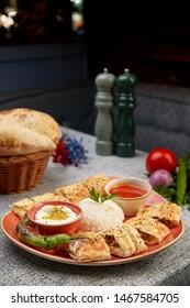 turkish kebab beyti kebab turkish traditional kebap