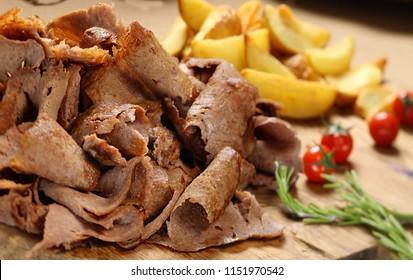 Turkish Kebab Doner Kebab Meat Kebab
