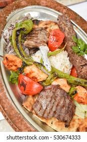 Turkish Kebap Plate